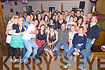 Aisling Cronin, Muckross, Killarney, seated centre, pictured with her family and friends as she celebrated her 21st birthday in The Granary on Saturday night.........