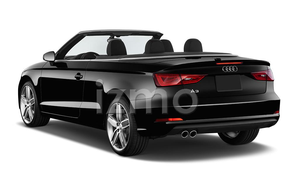 Car pictures of rear three quarter view of 2015 Audi A3 1.8 Premium Plus  2 Door Convertible angular rear