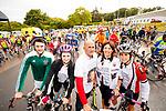 Jonathan, Danielle, Dan Joe, Bernadette and  Lorraine O'Sullivan at the Stephenie O'Sullivan Memorial Cycle at Milton on Sunday.