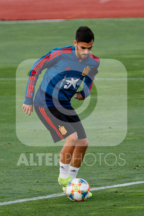 Dani Ceballos during the Trainee Session at Ciudad del Futbol in Las Rozas, Spain. September 02, 2019. (ALTERPHOTOS/A. Perez Meca)