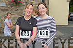 Pictured at the Athea Tidy Towns 5k and 10k fun run and walk which took place on Sunday were Hannah Fitzgerald and Ursula Herlihy, Templeglantine.