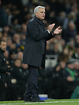 Tottenham's Head Coach Jose Mourinho during the Premier League match at the Tottenham Hotspur Stadium, London. Picture date: 30th November 2019. Picture credit should read: Paul Terry/Sportimage