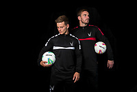 Goalkeeper Scott Brown & Dominic Gape  during the PEAK Elite Sportswear Photoshoot at Wycombe Training Ground, High Wycombe, England on 1 August 2017. Photo by PRiME Media Images.