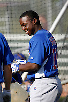 Marquez Smith - Chicago Cubs - 2009 spring training.Photo by:  Bill Mitchell/Four Seam Images
