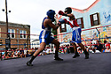 Friday Night Fights on Oretha Castle Haley in Central City, New Orleans.