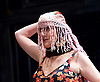 Grey Gardens<br /> Book by Doug Wright<br /> Music by Scott Frankel<br /> Lyrics by Michael Korie<br /> produced by Danielle Tarento<br /> at The Southwark Playhouse, London, Great Britain <br /> press photocall<br /> 7th January 2016 <br /> <br /> directed by Thom Southerland<br /> <br /> <br /> <br /> Jenna Russell as 'Little' Edie Beale<br /> <br /> <br /> <br /> <br /> Photograph by Elliott Franks <br /> Image licensed to Elliott Franks Photography Services