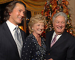 Gregory Fourticq, Patsy and Greg Fourticq and John Mendelsohn at the M.D. Anderson benefit held honoring the Fourticqs Thursday Dec. 13,2006.(Dave Rossman/For the Chronicle)<br />
