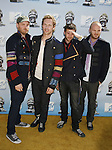 Musicians Coldplay arrive to the 2008 MTV Movie Awards on June 1, 2008 at the Gibson Amphitheatre in Universal City, California.