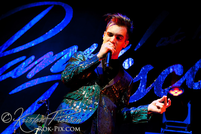 Panic at the Disco perform at Mohegan Sun Arena September 5, 2013