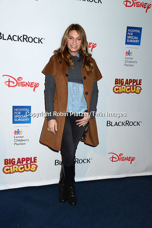 Heather Thomson attends the Hospital for Special Surgery's 8th Annual  Big Apple Circus Benefit on December 6, 2014 at Damrosch Park in Lincoln Center  in New York City, USA.<br /> <br /> photo by Robin Platzer/Twin Images<br />  <br /> phone number 212-935-0770