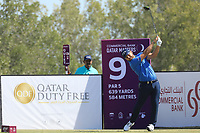 Jordan Smith (ENG) in action during the final round of the Commercial Bank Qatar Masters, Doha Golf Club, Doha, Qatar. 10/03/2019<br /> Picture: Golffile | Phil Inglis<br /> <br /> <br /> All photo usage must carry mandatory copyright credit (&copy; Golffile | Phil Inglis)