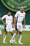 20 Octoboer 2007: Mauricio Ramos (l) and Frank LeBoeuf (FRA). The 1997 DC United team defeated Hollywood United 2-1 in the Marco Etcheverry tribute match played before a regular season MLS game at RFK Stadium in Washington, DC.