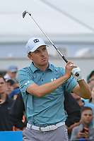 Jordan Spieth (USA) watches his tee shot on 2 during round 4 of the AT&T Byron Nelson, Trinity Forest Golf Club, at Dallas, Texas, USA. 5/20/2018.<br /> Picture: Golffile | Ken Murray<br /> <br /> All photo usage must carry mandatory copyright credit (© Golffile | Ken Murray)