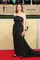 LOS ANGELES, CA - JANUARY 21: Geena Davis at The 24th Annual Screen Actors Guild Awards held at The Shrine Auditorium in Los Angeles, California on January 21, 2018. Credit: FSRetna/MediaPunch
