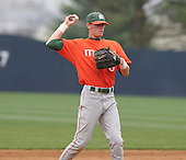 Ryan Jackson of the Miami Hurricanes vs. the Virginia Cavaliers: March 24th, 2007 at Davenport Field in Charlottesville, VA.  Photo copyright Mike Janes Photography 2007.