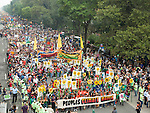 More than 300,000 march in solidarity for Climate accountability, at the People's Climate March on September 21, 2014. (Credit: Robert van Waarden)
