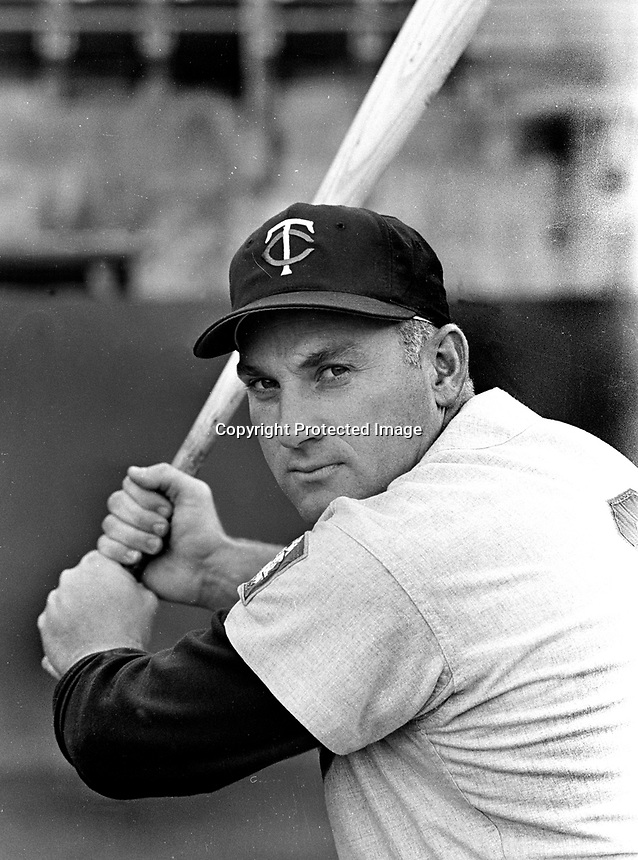 Minnesota Twins slugger Harmon Killebrew..(1970 photo/Ron Riesterer)