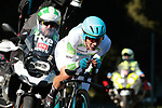 White Jersey Miguel Angel Lopez Moreno (COL) Astana Pro Team in action during Stage 10 of La Vuelta 2019 an individual time trial running 36.2km from Jurancon to Pau, France. 3rd September 2019.<br /> Picture: Colin Flockton | Cyclefile<br /> <br /> All photos usage must carry mandatory copyright credit (© Cyclefile | Colin Flockton)