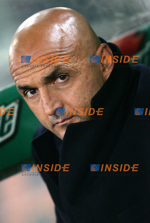 Luciano Spalletti (Roma) trainer<br /> Italian &quot;Serie A&quot; 2006-07 <br /> 05 November 2006 (Match Day 10)<br /> Roma Fiorentina (3-1)<br /> &quot;Olimpico&quot; Stadium-Roma-Italy<br /> Photographer Andrea Staccioli INSIDE