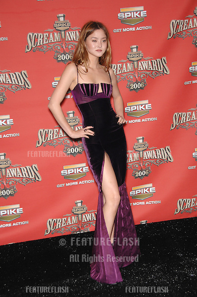 DEVON AOKI at the Spike TV Scream Awards 2006 at the Pantages Theatre, Hollywood..October 7, 2006  Los Angeles, CA.Picture: Paul Smith / Featureflash