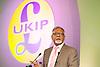 UKIP Annual Party Conference <br /> 26th September 2014 <br /> at Doncaster Racecourse, Great Britain <br /> <br /> <br /> <br /> Amjad Bashir MEP <br /> <br /> <br /> <br /> <br /> Photograph by Elliott Franks <br /> Image licensed to Elliott Franks Photography Services