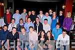 DOUBLE: Best of friend Eoin Kelliher( seated 3rd from left) and David Lee eated 4th from left) who celebrated their 18th Birthdays together in The Abbey Gate Hotel, Tralee on Saturday night with Family and friends.......