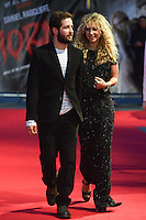 "Juno Temple and Boyfriend, Michael Angarano arrives for the ""Horns"" premiere at the Odeon West End, London. 20/10/2014 Picture by: Steve Vas / Featureflash"