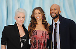 "HOLLYWOOD, CA - NOVEMBER 13: Alecia Moore (Pink), Sofia  Vergara and Common attend the ""Happy Feet Two"" Los Angeles premiere held at the Grauman's Chinese Theatre on November 13, 2011 in Hollywood, California."