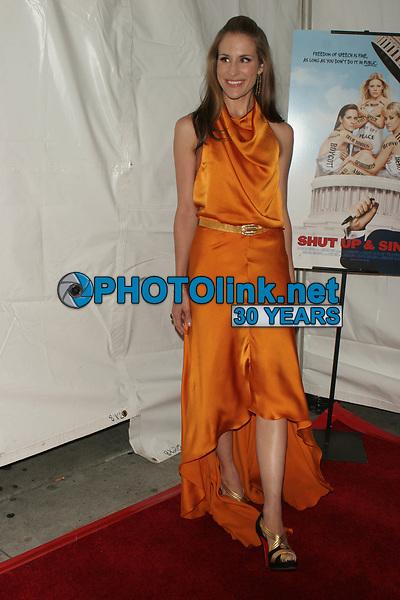 DIXIE CHICKS 2006<br /> EMILY ROBINSON/YELLOW DRESS-<br /> NATALIE MAINES/BLACK DRESS <br /> Martie Maguire/PUPLE DRESS<br /> Photo By John Barrett-PHOTOlink.net