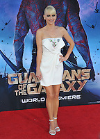Anna Faris at the world premiere of &quot;Guardians of the Galaxy&quot; at the El Capitan Theatre, Hollywood.<br /> July 21, 2014  Los Angeles, CA<br /> Picture: Paul Smith / Featureflash
