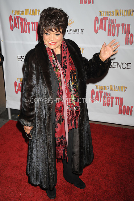 WWW.ACEPIXS.COM . . . . .....March 6, 2008. New York City.....Actress Eartha Kitt attends the 'Cat on a Hot Tin Roof' opening night after party at Strata...  ....Please byline: Kristin Callahan - ACEPIXS.COM..... *** ***..Ace Pictures, Inc:  ..Philip Vaughan (646) 769 0430..e-mail: info@acepixs.com..web: http://www.acepixs.com