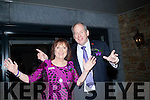 Dick and Eileen Henggler after they cut the tape to open the new Rose Hotel,Tralee on Friday