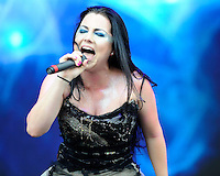 July 6, 2012, Milan, Italy: Evanescence in concert during the Heineken Jammin Festival. Credit: Flavio Lo Scalzo/AGF/MediaPunch Inc. ***NO ITALY***