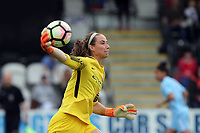 Karen Bardsley of Manchester City Women during Arsenal Women vs Manchester City Women, FA Women's Super League FA WSL1 Football at Meadow Park on 12th May 2018
