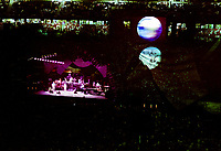The Grateful Dead Live in Concert at Giants Stadium June 16, 1991. Full Set, Lights and Stage Design Capture Image. Version 02 More Stars Detail