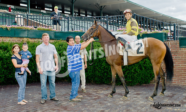 Ikan Dream winning at Delaware Park on 10/7/13