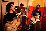 """October 28, 2010. Graham, NC.. Renee Mendoza, vocals, acoustic guitar and keyboards.. Filthybird, a five piece composed of Brian Haran, Renee Mendoza, Sanders Trippe, Jim Bob Aiken and  Mike Duehring, recently released their full length album """"Songs for Other People"""" on Holidays for Quince Records.. ."""
