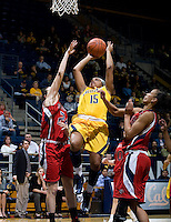 Brittany Boyd of California shoots the ball during the game against St. Mary's at Haas Pavilion in Berkeley, California on November 15th, 2012.  California defeated St. Mary's, 89-41.