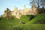 Curtain walls of Framlingham Castle, Suffolk