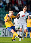 Lisa Dahlqvist, Kelly Smith, Sweden-England, Women's EURO 2009 in Finland, 08312009, Turku, Veritas Stadium.