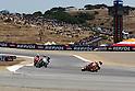July 25, 2010 - Laguna Seca, USA -Repsol Honda team's Spanish rider, Dani Pedrosa, powers his bike during the U.S. Grand Prix held on July 25, 2010. (Photo Andrew Northcott/Nippon News)