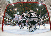 Justin Daniels (NU - 11), Kyle Kraemer (NU - 16), Alex Beaudry (Providence - 35) - The Northeastern University Huskies defeated the Providence College Friars 3-1 (EN) on Tuesday, January 19, 2010, at Matthews Arena in Boston, Massachusetts.