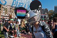 BUENOS AIRES, ARGENTINA, 04 MAIO DE 2013 - MARCHA DA MACONHA - Manifestantes se reúnem hoje na Plaza de Mayo, em Buenos Aires exigindo a legalização da maconha e as mudanças nas políticas de drogas. A manifestação, que é realizada na Argentina desde 2006, faz parte da Marcha da Maconha Mundial, realizado em mais de 200 cidades ao redor do mundo. FOTO. PATRICIO MURPHY/ BRAZIL PHOTO PRESS