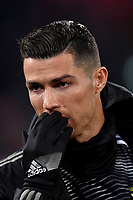 Cristiano Ronaldo of Juventus reacts before the Italy Cup 2018/2019 football match between Bologna and Juventus at stadio Renato Dall'Ara, Bologna, January 12, 2019 <br />  Foto Andrea Staccioli / Insidefoto