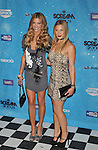 LOS ANGELES, CA. - October 17: Tricia Helfer and Katee Sackhoff arrive at Spike TV's Scream 2009 held at the Greek Theatre on October 17, 2009 in Los Angeles, California.