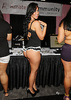 Barbie [Amateur Community] at Exxxotica, Broward County Convention Center, Fort Lauderdale, FL, Friday May 2, 2014.
