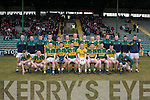 MUNSTER CHAMPIONSHIP: The Kerry U21's who beat Cork in the Cadbury's U21's Munster Football Championship at Austin Stack Park on Saturday.