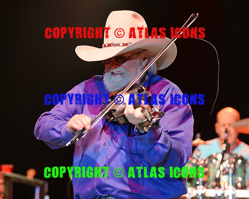 FORT LAUDERDALE FL - MARCH 11: Charlie Daniels of The Charlie Daniels Band performs at The Pompano Beach Amphitheater on March 11, 2016 in Fort Lauderdale, Florida. Photo by Larry Marano © 2016