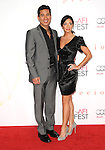 Mario Lopez & Courtney Mazza at The 2009 AFI Fest Screening of Precious held at The Grauman's Chinese Theatre in Hollywood, California on November 01,2009                                                                   Copyright 2009 DVS / RockinExposures