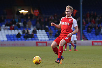 Fleetwood Town's Kyle Dempsey during the Sky Bet League 1 match between Oldham Athletic and Fleetwood Town at Boundary Park, Oldham, England on 26 December 2017. Photo by Juel Miah / PRiME Media Images.